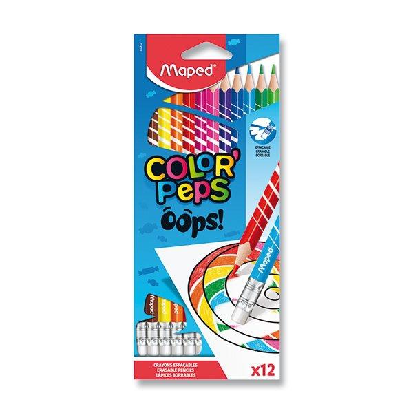 Psací potřeby - Pastelky Maped Color´Peps Oops 12 barev