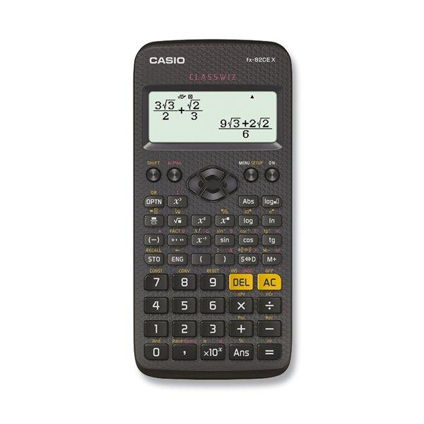 Kancelářské potřeby - Školní kalkulátor Casio FX 82 CE X