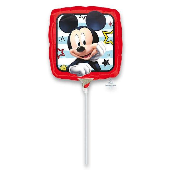 Školní a výtvarné potřeby - Fóliový party balónek kulatý Mickey Roadster