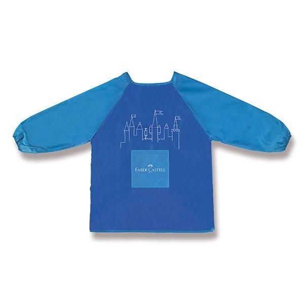 Školní a výtvarné potřeby - Výtvarná zástěra Faber-Castell modrá