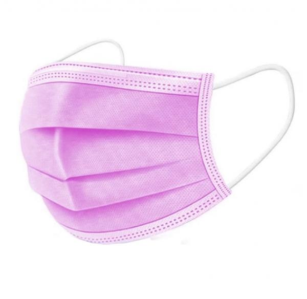 Obalový materiál drogerie - Jednorázová hygienická rouška růžová - 10ks