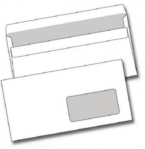 Papír tiskopisy - Obálka DL samolepicí s okénkem