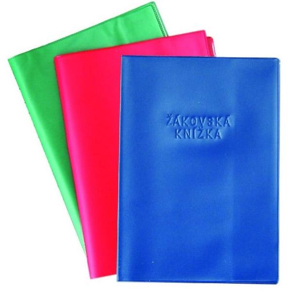 Školní a výtvarné potřeby - Obal na žákovskou knížku - mix barva