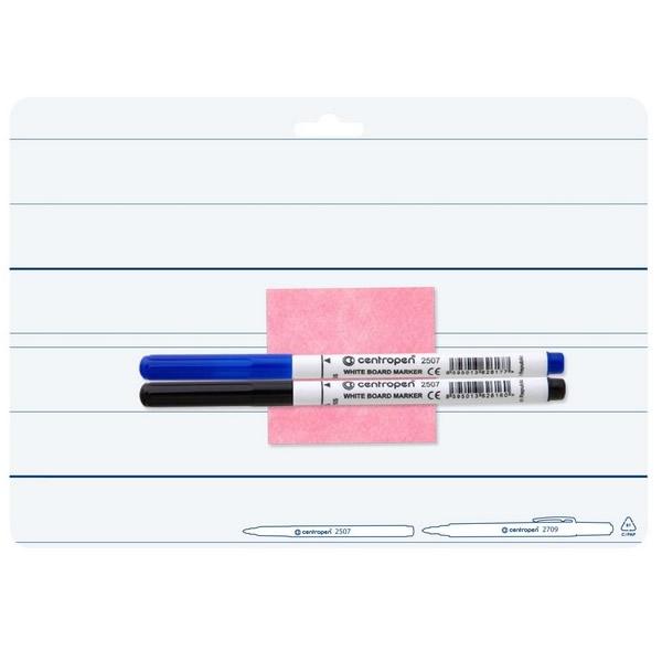 Školní a výtvarné potřeby - Oboustranně stíratelná tabulka - A4 7719 pro 1. ZŠ
