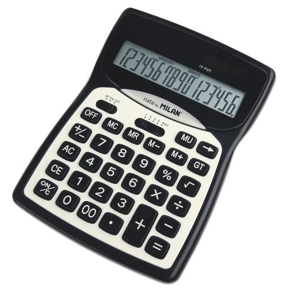 Kancelářské potřeby - Kalkulačka Milan 152016 BL