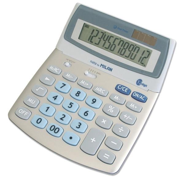 Kancelářské potřeby - kalkulačka Milan 152512 BL