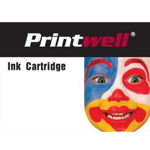 Tonery a cartrige - Printwell T04B T04B1 kompatibilní kazeta, barva náplně černá, 5800 stran