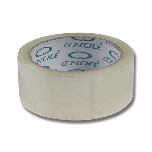 Obalový materiál drogerie - Balicí páska CONCORDE 48mm x 66m, transparentní