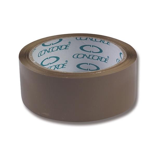 Obalový materiál drogerie - Balicí páska CONCORDE 48mm x 66m, hnědá