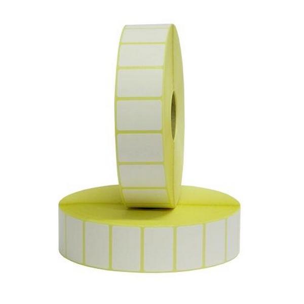 Papír tiskopisy - Etikety termotransferové bílé - 75 x 38mm, 3000 etiket