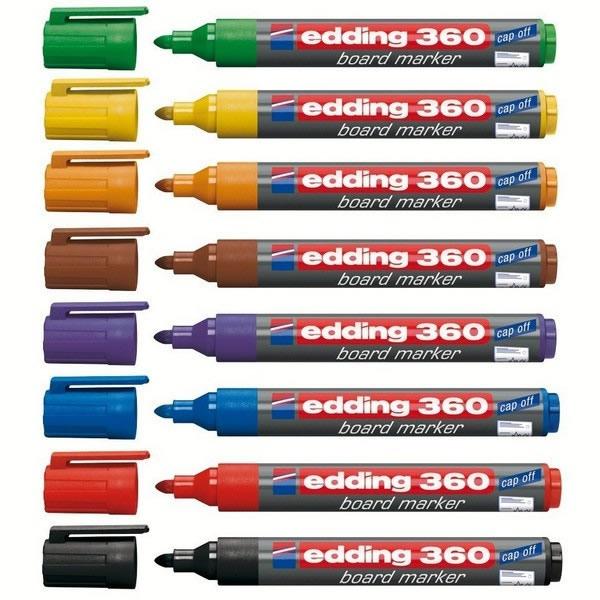 Psací potřeby - Popisovač tabulový Edding 360 - 10ks