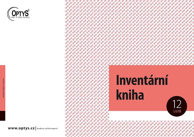 Papír tiskopisy - Inventární kniha A4