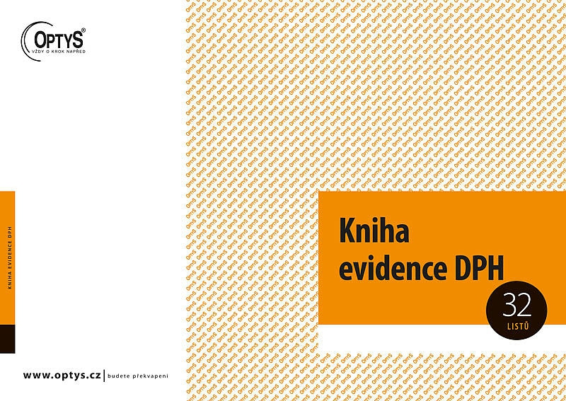 Papír tiskopisy - Kniha evidence DPH A4