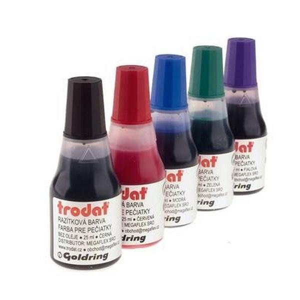 Kancelářské potřeby - Razítková barva Trodat - 7010, 25ml
