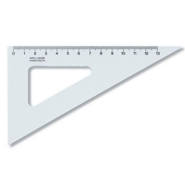Školní a výtvarné potřeby - Trojúhelník 60/160 744650 transparentní