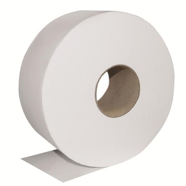 Obalový materiál drogerie - Toaletní papír Jumbo - 19cm, celulóza, 2 vrstvy, 6ks