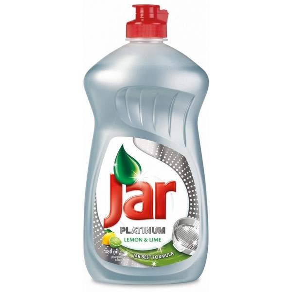 Obalový materiál drogerie - Jar Platinum Lemon & Lime - 430 ml