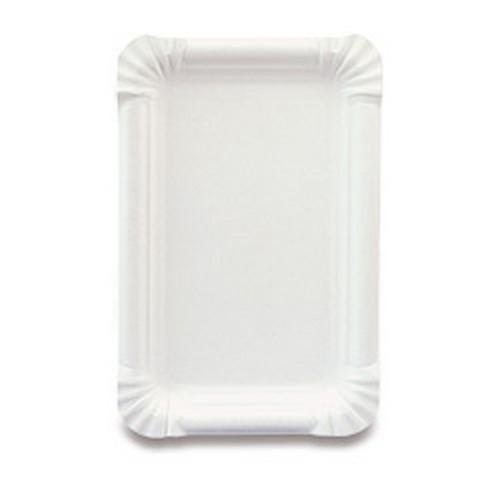 Obalový materiál drogerie - Papírový tácek - 13 × 20 cm, 100 ks
