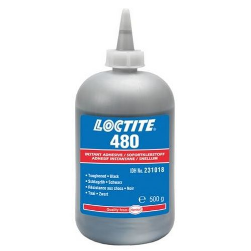 Loctite - Loctite 480 - 500 g vteřinové lepidlo černé
