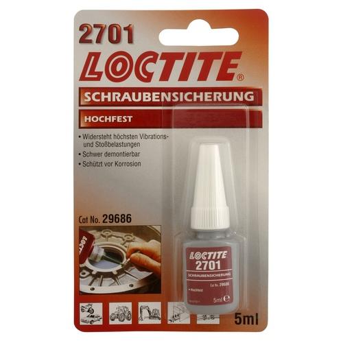 Loctite - Loctite 2701 - 5 ml zajišťovač šroubů VP