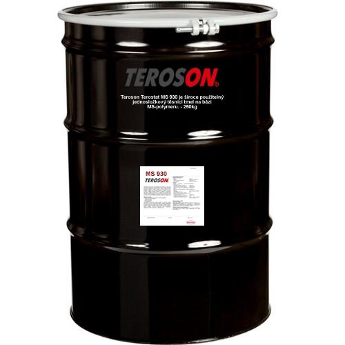 Loctite - Teroson MS 930 - 250 kg černý těsnící tmel