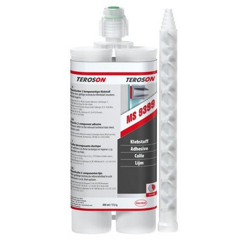 Loctite - Teroson MS 9399 - 400 ml černý dvousložkový těsnící polymer