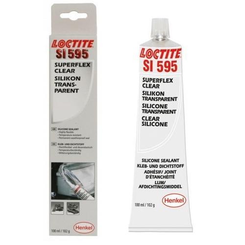 Loctite - Loctite SI 595 - 100 ml čiré silikonové lepidlo SuperFlex
