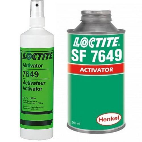 Loctite - Loctite SF 7649 - 500 ml sada aktivátor N + prázdný rozprašovač