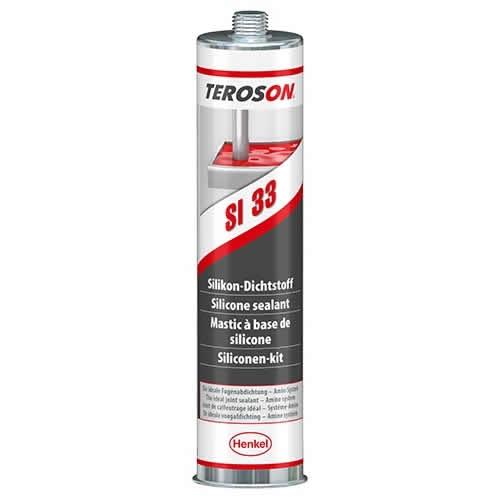Loctite - Teroson SI 33 - 310 ml šedý silikonový tmel