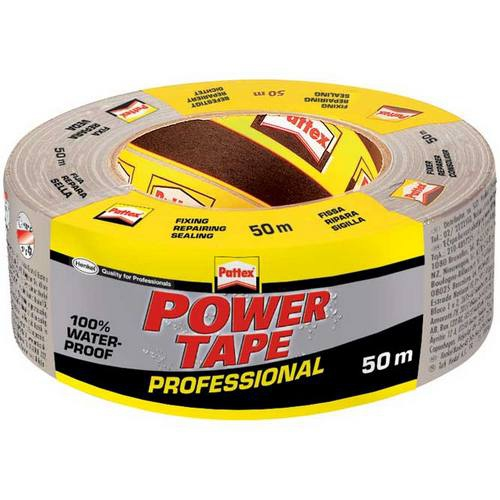 Loctite - Pattex Power Tape stříbrná - 50 m