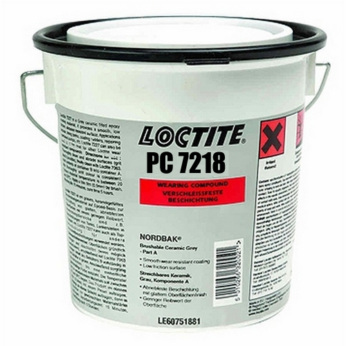 Loctite - Loctite PC 7218 - 1 kg Nordbak odolný vůči odírání a korozi