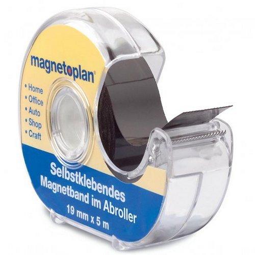 Kancelářské potřeby - Páska magnetická Magnetoplan 5 m x 19 mm, samolepící