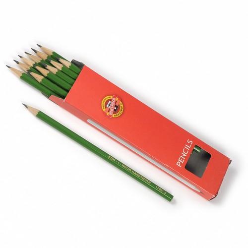 Psací potřeby - Tužka grafitová 1703 3 zelená