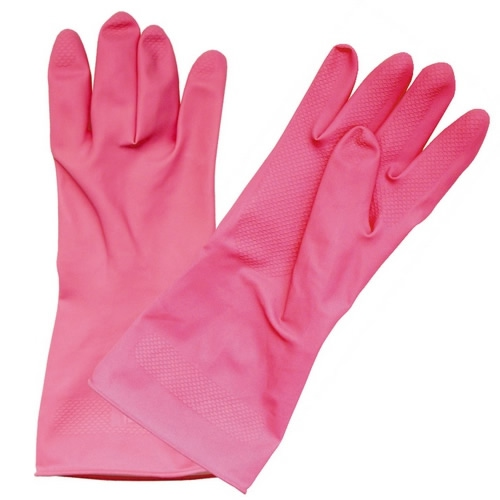 Obalový materiál drogerie - Gumové rukavice na úklid