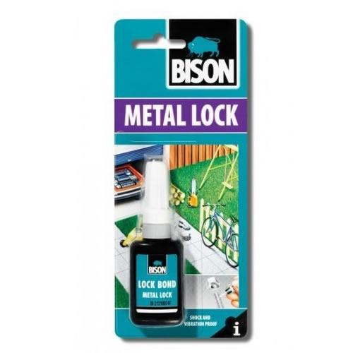 Obalový materiál drogerie - BISON METAL LOCK 10 ml
