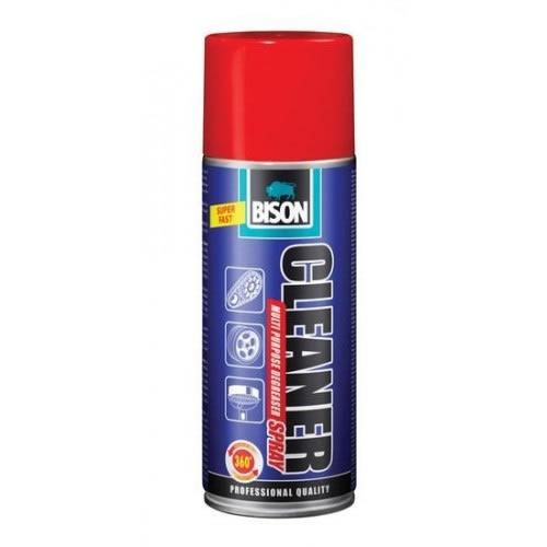 Obalový materiál drogerie - BISON SPRAY CLEANER AEROSOL 400 ml