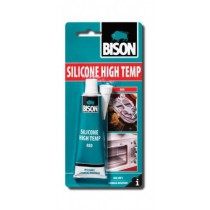 BISON SILICONE HIGH TEMP RED 60 ml