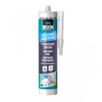 BISON SANITARY SILICONE - 280ml
