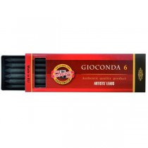 Uhel umělý černý 8673 5,6mm, GIOCONDA