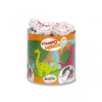 Razítka Aladine Stampo Minos - Dinosauři
