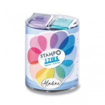 Razítkové barevné polštářky - Pastel