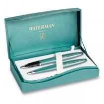 Waterman Carène Lagoon sada plnicí pero a kuličková tužka