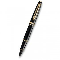Waterman Expert Black Lacquer GT roller