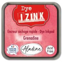 Razítkovací polštářek Izink Dye rychleschnoucí zářivě červená