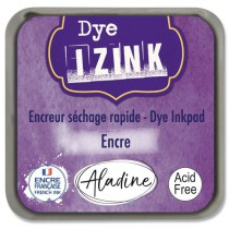 Razítkovací polštářek Izink Dye rychleschnoucí modrofialová
