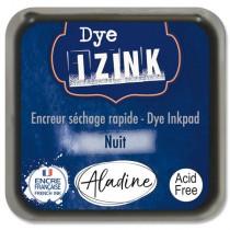 Razítkovací polštářek Izink Dye rychleschnoucí tm. modrá