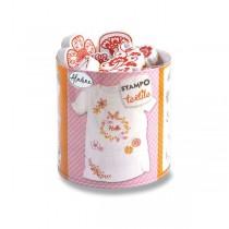 Razítka Aladine Stampo Textile Věneček květin