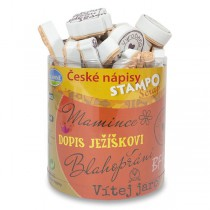 Razítka Stampo Scrap - České nápisy