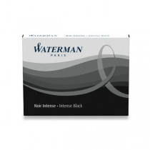 Inkoustové bombičky Waterman standardní černé
