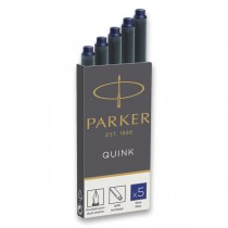 Inkoustové bombičky Parker modré